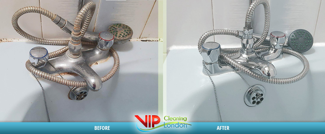 House cleaning Londo - Bathroom Before After