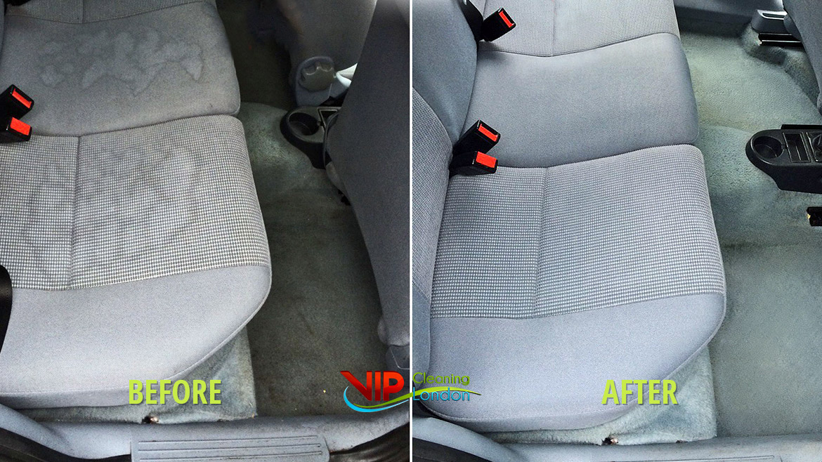 ᐉ Steam Car Upholstery Cleaning Services London Vip Cleaning London